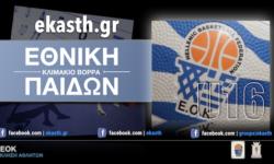 ΕΟΚ | Εθνική Παίδων: Προπόνηση για το κλιμάκιο Βορρά (17.02.20) Ποιοι αθλητές έχουν κληθεί