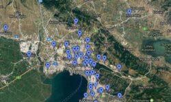 ΧΑΡΤΗΣ : Γήπεδα Μπάσκετ Θεσσαλονίκης