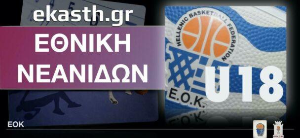 ΕΟΚ   Εθνική Νεανίδων: Προπονητικό διήμερο (01.03.20) Ποιες αθλήτριες έχουν κληθεί