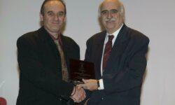 Η ΕΚΑΣΘ τιμά τον ΚΩΣΤΑ ΤΣΑΠΑΔΙΚΟ για την προσφορά του στην ελληνική καλαθοσφαίριση. (video)