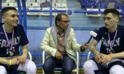 Μάριος και Γιάννης Τσιροπούλης … στην κάμερα της ΕΚΑΣΘ μετά την κατάκτηση του πρωταθλήματος ΠΑΙΔΩΝ