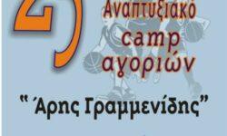 Το έντυπο-αφιέρωμα της ΕΚΑΣΘ για τo 25ο CAMP Αγοριών Ε.ΚΑ.Σ.Θ. γεννημένοι το 2005-2006 «ΑΡΗΣ ΓΡΑΜΜΕΝΙΔΗΣ»|  Τα ρόστερ των ομάδων