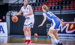 Νεανίδων: Ρουμανία – Ελλάδα 51-63