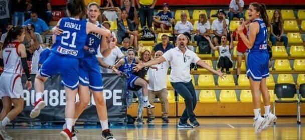 Εθνική Νεανίδων: Τουρκία – Ελλάδα 56-58. Άνοδος στην Α' κατηγορία του Ευρωπαϊκού Πρωταθλήματος . Γερεουδάκης: «Οι παίκτριες μας έχουν πνεύμα νικητή»