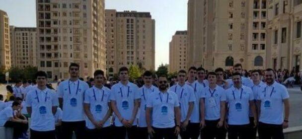 Εθνική Παίδων: Ελλάδα-Λιθουανία 71-77 στην πρεμιέρα του Ολυμπιακού Φεστιβάλ Νεότητας που διεξάγεται στο Μπακού.