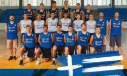 Παμπαίδων U15: Γαλλία-Ελλάδα 68-42
