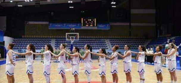 Νέων Γυναικών: Ελλάδα – Ουκρανία 45-52