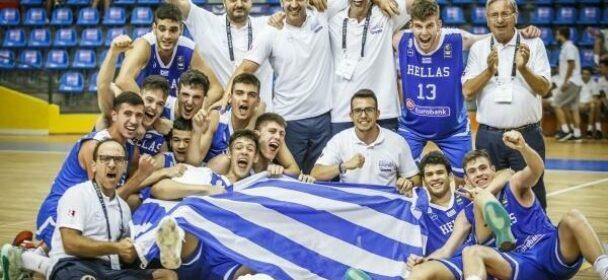Ευρωπαϊκό Παίδων U16: Λιθουανία-Ελλάδα 56-67 και πρόκριση στους στους οκτώ.