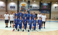 Παμπαίδων U14: Ελλάδα-Ισπανία (κόκκινη) 56-73