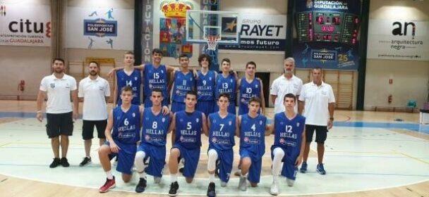 Παμπαίδων U14: Iσπανία-Ελλάδα 67-71