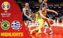 Εθνική Ανδρών: (video) FIBAWC: Οι καλύτερες στιγμές του αγώναΒραζιλία-Ελλάδα 79-78 και η συνέντευξη τύπου.