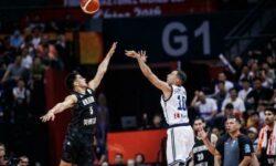 Εθνική Ανδρών: FIBAWC:  Ελλάδα-Νέα Ζηλανδία 103-97