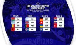 ΕΟΚ | Ευρωπαϊκό U20 Γυναικών: Κληρώσεις ομίλων