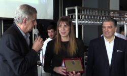 Στιγμιότυπα (videos) από την κοπή της πρωτοχρονιάτικης πίτας του ΣΒΚ Θεσσαλονίκης και τις βραβεύσεις των Κατσούλη,Κούρτη και Πεταχτή.