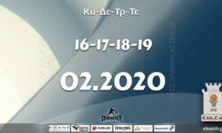 Το πρόγραμμα αγώνων της Κυριακής-Δευτέρας-Τρίτης-Τετάρτη (16-17-18-19/02/2020)📆 Διαιτητές και κριτές που έχουν ορισθεί