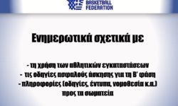 ΕΟΚ | Ενημερωτικά σχετικά με  τη χρήση των αθλητικών εγκαταστάσεων,τις οδηγίες ασφαλούς άσκησης για τη Β' φάση και πληροφορίες (οδηγίες, έντυπα, νομοθεσία κ.α.)προς τα σωματεία
