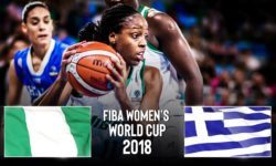 ΝΙΓΗΡΙΑ – ΕΛΛΑΔΑ επαναπροβολή του αγώνα από τo youtube κανάλι της Παγκόσμιας Ομοσπονδίας    FIBA Women's Basketball World Cup 2018