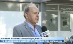 Ο Γιάννης Τσουμής στην εκπομπή «με ΜΕΤΡΟ» της ΕΡΤ3