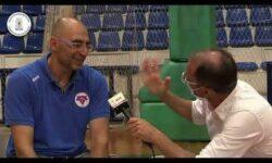 Σωτήρης Κοκκινόπουλος και Γιώργος Ζαχαριάδης συνομιλούν μετά την κατάκτηση της δεύτερης θέσης του πρωταθλήματος ΠΑΙΔΩΝ της ΕΚΑΣΘ 2019-20 από την ομάδα της ΧΑΝΘ (video)