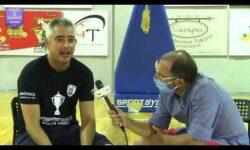 Βασίλης Μασλαρινός & Γιώργος Ζαχαριάδης συνομιλούν μετά την κατάκτηση του πρωταθλήματος ΝΕΑΝΙΔΩΝ της ΕΚΑΣΘ από τον ΠΑΟΚ ΚΥΑΝΑ (video)