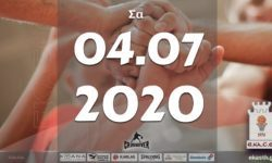 Το πρόγραμμα αγώνων του Σαββάτου (04/07/2020)📆 Διαιτητές και κριτές που έχουν ορισθεί