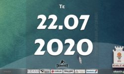 Το πρόγραμμα αγώνων της Τετάρτης (22/07/2020)📆 Διαιτητές και κριτές που έχουν ορισθεί