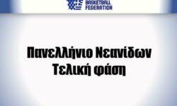 Πανελλήνιο Νεανίδων: Οι συνθέσεις των έξι ομάδων. Η διοργάνωση θα φιλοξενηθεί στο ΚΓ Κοκκινάς Αμαρουσίου και θα διεξαχθεί από 5 ως 9 Αυγούστου.