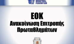 ΕΟΚ | Ανακοίνωση Επιτροπής Πρωταθλημάτων (Α2 Γυναικών)