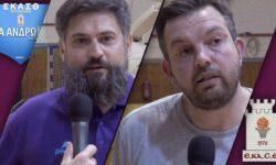 3ο ημίχρονο | Δηλώσεις Ούλιου και Μητριτζίκη …και η έκπληξη των παικτών στον προπονητή τους ! (video)