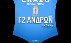 Γ2 ΑΝΔΡΩΝ 1ος ΟΜ | Το πλήρες πρόγραμμα αγώνων όπως προέκυψε μετά την κλήρωση των ομίλων της ΕΚΑΣΘ 2020-21