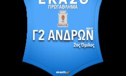 Γ2 ΑΝΔΡΩΝ 2ος ΟΜ | Το πλήρες πρόγραμμα αγώνων όπως προέκυψε μετά την κλήρωση των ομίλων της ΕΚΑΣΘ 2020-21