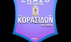 ΚΟΡΑΣΙΔΩΝ 2ος ΟΜ | Το πλήρες πρόγραμμα αγώνων όπως προέκυψε μετά την κλήρωση των ομίλων της ΕΚΑΣΘ 2020-21