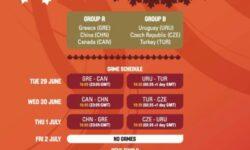Προολυμπιακό Ανδρών: Το πρόγραμμα των αγώνων