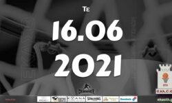 Το πρόγραμμα αγώνων της Τετάρτης (16/06/2021)📆 Διαιτητές και κριτές που έχουν ορισθεί