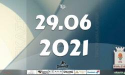 Το πρόγραμμα αγώνων της Τρίτης (29/06/2021)📆 Διαιτητές και κριτές που έχουν ορισθεί