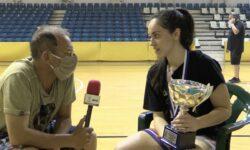 Video | Θωμάς Λαζάρου, Νικολίνα Σαριδάκη, Μαρία Δημοπούλου και Έλενα Κοφινά  συνομιλούν με τον Γιώργο Ζαχαριάδη μετά την κατάκτηση του Πρωταθλήματος Κορασίδων της ΕΚΑΣΘ