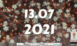 Το πρόγραμμα αγώνων της Τρίτης (13/07/2021)📆 Διαιτητές και κριτές που έχουν ορισθεί