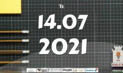 Το πρόγραμμα αγώνων της Τετάρτης (14/07/2021)📆 Διαιτητές και κριτές που έχουν ορισθεί