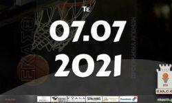 Το πρόγραμμα αγώνων της Τετάρτης (07/07/2021)📆 Διαιτητές και κριτές που έχουν ορισθεί