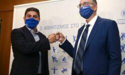Επίσκεψη του πρόεδρου της ΕΟΚ στον Υφυπουργό Αθλητισμού (pics)
