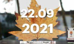 Το πρόγραμμα αγώνων της Τετάρτης (22/09/2021)📆 Διαιτητές και κριτές που έχουν ορισθεί