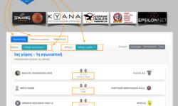 Αναρτήθηκαν τα αναλυτικά προγράμματα των ομίλων των πρωταθλημάτων ΕΦΗΒΩΝ-ΠΑΙΔΩΝ και ΚΟΡΑΣΙΔΩΝ της ΕΚΑΣΘ όπως προέκυψαν μετά τις κληρώσεις